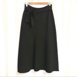 Aritzia- Wilfred black knit skirt - Size M